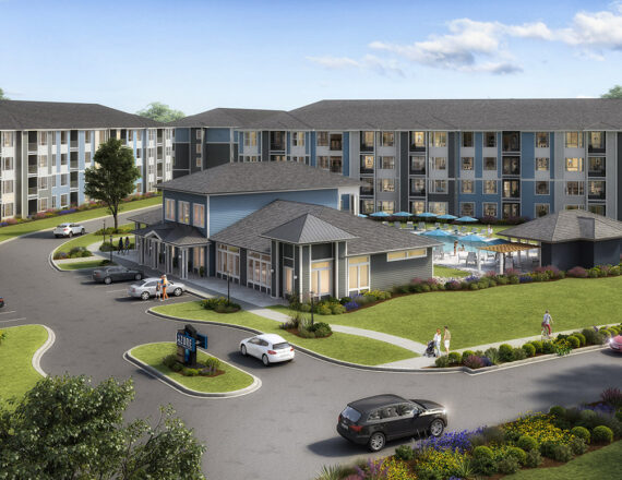 AGS Azure apartments clubhouse