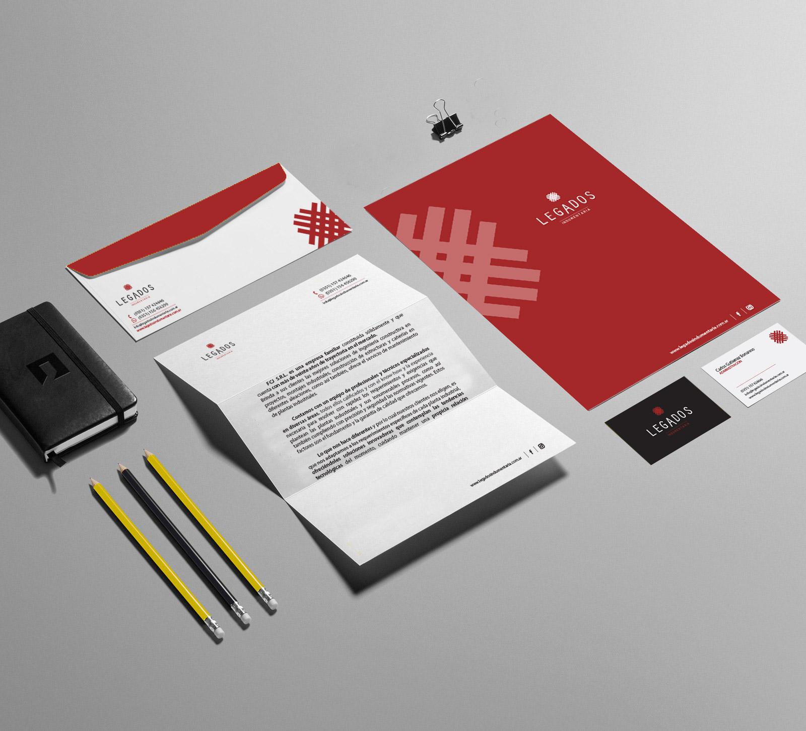 legados-diseño-papeleria-institucional
